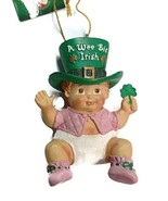 Wee Bit Irish Baby Ornament (Girl) - $17.33
