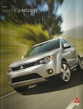 2009 Mitsubishi OUTLANDER sales brochure catalog 09 US XLS SE ES - $8.00