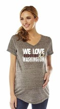 Soft As A Grape Nfl Womens Maternity V-Neck Short Sleeve Tee *Most Teams&Sizes* - $9.99