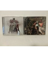 BLOODBORNE & DRAGONS DOGMA CDs: ORIGINAL GAME SOUNDTRACKS - RARE - FREE ... - $42.08