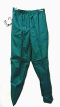 Scrub Pants PRN 1067 Elastic Waist Uniform Small Hunter Green Bottom New - $19.57
