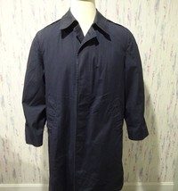 US Air Force All Weather Poplin Trench Coat USA FUR Lining Jacket Mens 38 R - $56.99