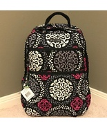Vera Bradley Tech Backpack in Canterberry Magenta - $88.00