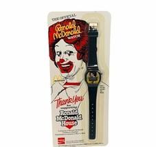 Ronald Mcdonald Watch vtg 1984 moc Sealed House Coca Cola Coke House wri... - $19.25