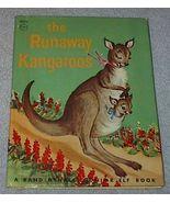 Old Vintage Junior Elf Book The Runaway Kangaroos - $5.00