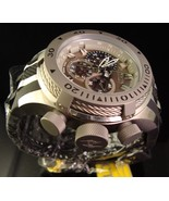 BRAND NEW MENS INVICTA RESERVE BOLT SWISS CHRONOGRAPH W POLY BAND &MSRP $1495 - $254.77