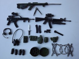 """Lanard Toys Ultra Corps Army Navy 12"""" Action Figures Weapons and Access... - $23.36"""
