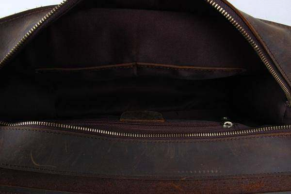 Sale, Leather Men Briefcase, Laptop Bag, Vintage CrossBody Bag, Messenger Bag image 5