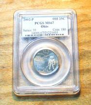 2002-P  PCGS Graded MS67 Ohio State Quarter - $19.95