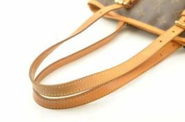 LOUIS VUITTON Monogram Bucket PM Shoulder Bag M42238 LV Auth cr194 **No Sticky image 6