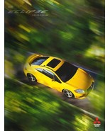 2009 Mitsubishi ECLIPSE sales brochure catalog 09 US Spyder - $10.00