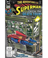 The Adventures of Superman Comic Book #481 DC Comics 1991 VFN/NEAR MINT NEW - $2.99