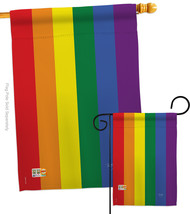 Rainbow - Impressions Decorative Flags Set S115100-BO - $57.97