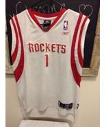 REEBOK NBA Jersey TRACY McGRADY#1 HOUSTON ROCKETS Youth L (14-16) Sewn +... - $21.95
