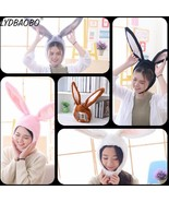 1pc 35cm funny 5 Color Rabbit Hat With Ears Stuffed Plush Toy Kawaii Sof... - $13.50