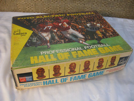 1971 Cadaco Foto Electric Football Hall Of Fame Game Works Tested Comple... - $44.99
