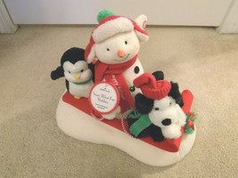 Hallmark Jingle Pals Snow What Fun Sledders Animated Musical w/Tag - $29.69