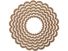 Spellbinders Nestabilities Classic Scalloped Circles, Large #S4-124 image 2