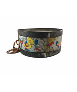 Vintage Noble & Cooley Toy Drum with sticks. Band images on side. - $8.90