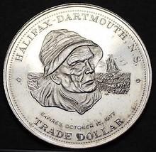 Halifax Dartmouth Canada Trade Token Dollar 1977~UNC~Free Shipping image 1