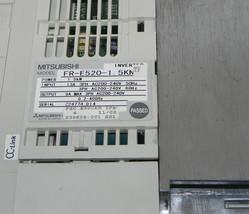 MITSUBISHI FREQROL-E500 INVERTER FR-E520-1.5KN-TF POWER: 1.5kW FRE52015KN image 2