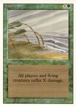 Magic: The Gathering 3rd Edition - Hurricane - $0.25