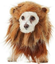 CALIFORNIA COSTUMES KING OF THE JUNGLE LION MANE HEADPIECE PLUSH DOG PET... - £11.14 GBP