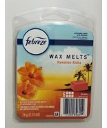 Febreze Hawaiian Aloha 6 Wax Melts Air Freshener New 2.75 Oz 78g - $10.39