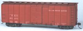 Funaro & Camerlengo HO B&O M-50 Wagontop Boxcar ,corrigated Sides ONE PIECE BODY image 2