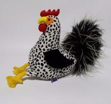 Manhattan Toy Rooster Plush Chicken Stuffed Animal 2009 - $17.81