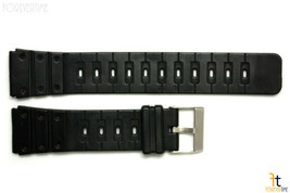 20mm Fits CASIO DW-1000 G-Shock Black Rubber Watch Band Strap DW-1500C D... - $12.85