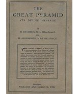 Great Pyramid Its Divine Message [Hardcover] [Jan 01, 1948] davidson, D.... - $300.00