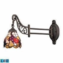 ELK 079-TB-19-LED, Mix-N-Match Swing Arm Glass Wall Sconce Lighting, 1LT... - $4.079,42 MXN