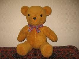Vintage Dutch OOAK Adrie Teddy Bear 17 inch Handmade 1992 - $67.54