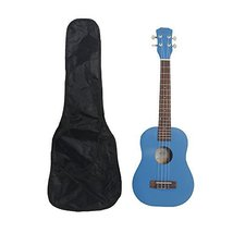 """26"""" Pure Color Rosewood Fingerboard Basswood Tenor Ukulele with Bag (Blue) - $33.99"""