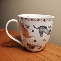 Coffee Mug, Milly Green cat breeds, kittens and mice, cat lady gift, brand new image 1