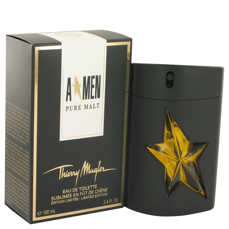 Primary image for Angel Pure Malt by Thierry Mugler Eau De Toilette Spray (Limited Edition) 3.4 oz