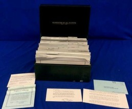 Vintage Franklin Mint - 135 Complete Uncirculated Banknotes of All Nations World image 1