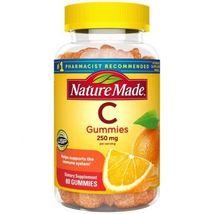 Nature Made Vitamin C Gummies 80 count bottle - $15.00