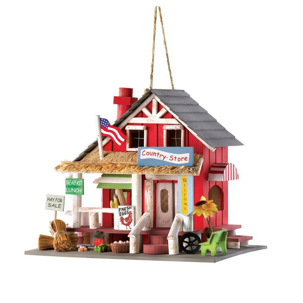 Primary image for  #10014258 *Wood Country Store Bird House*