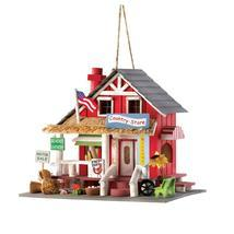 #10014258 *Wood Country Store Bird House* - £17.98 GBP