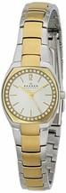 Skagen SKW2111 Ladies 25mm Gold Steel Bracelet & Case Mineral Glass Watch - $97.99