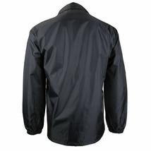 Men's Lightweight Water Resistant Windbreaker Coach Jacket w/ Defect - XXL image 2