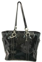 Coach Black Patent Leather Tote Bag - $81.93