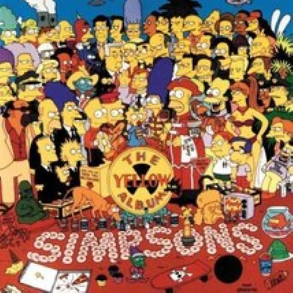 The Yellow Album Soundtrack Edition by The Simpsons and Various Artists Cd