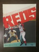 Vintage Cincinnati Reds 1983 Scorebook Unscored  - $6.64