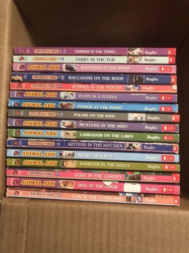 Primary image for Animal Ark Books By Ben M Baglio! Lot of 16 Popular Kids Series!
