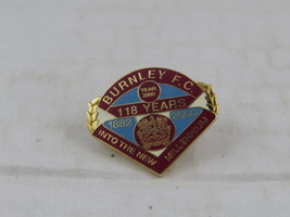 Burnely FC Pin - 118 Years Pin for the year 2000 - Inlaid Pin - $15.00