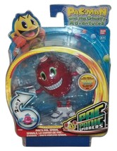 Pac-Man Ghostly Adventures Pac's Pal Spiral Figure Spinner Bandai - $9.00