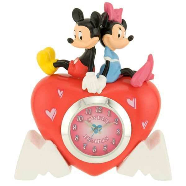 Mickey minnie clock